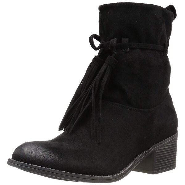 Billabong Womens monroe Fabric Almond Toe Ankle Fashion Boots