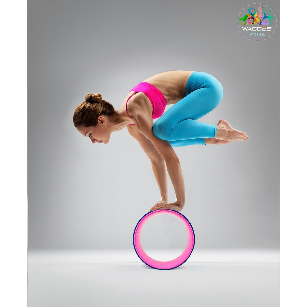 Shop Wacces Yoga Wheel 13 For Stretching Support For Yoga Poses Overstock 18184252