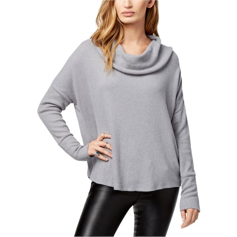 Lucky Brand Womens Tulip-Hem Pullover Sweater