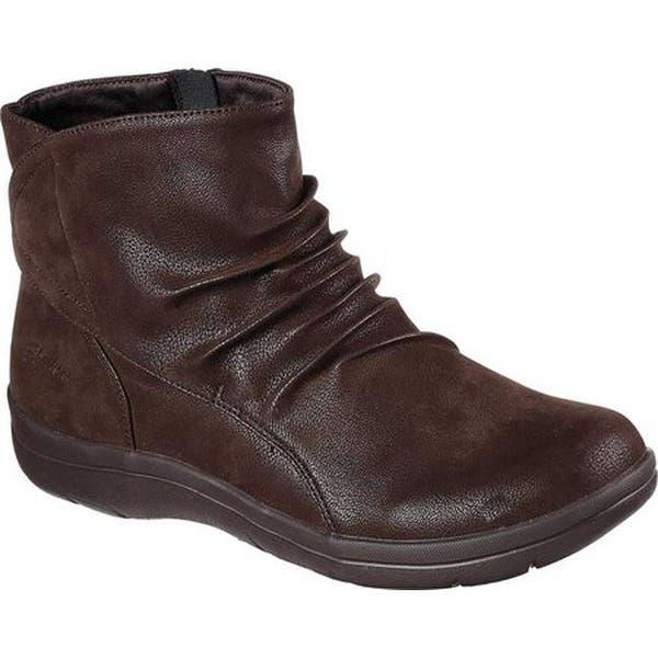 tavata uk saatavuus alennuskauppa Shop Skechers Women's Lite Step Tricky Ankle Boot Chocolate ...
