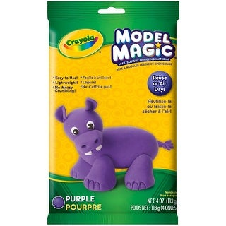 Crayola Model Magic 4oz-Purple - Purple
