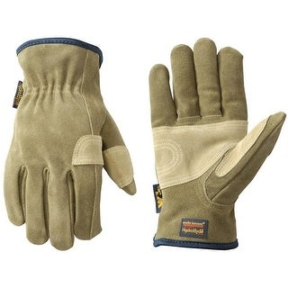 Wells Lamont 1019L Hydrahyde Cowhide Leather Work Glove, Large