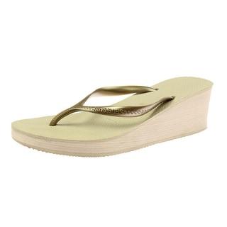 Havaianas Womens Signature Fashion Wedge Sandals - 7-8 medium (b,m)