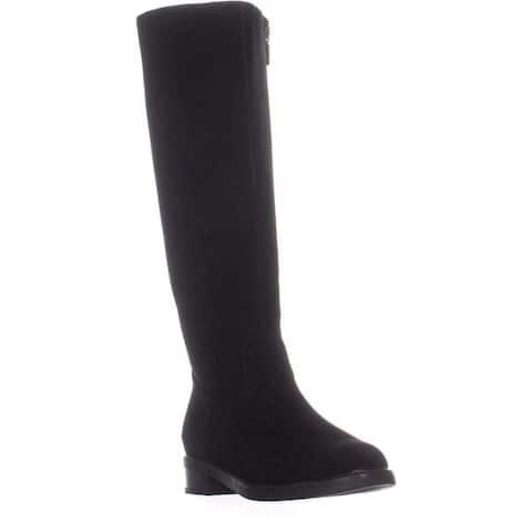 Aqua College Womens Elsa Closed Toe Knee High Fashion Boots