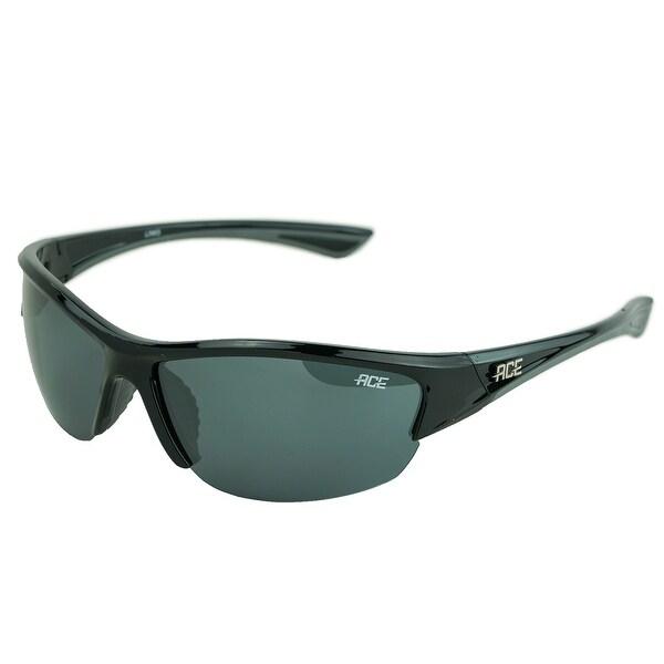 de9b685c73 Shop Links Polarized Sunglasses Shiny Black Smoke - One size - Free  Shipping On Orders Over  45 - Overstock.com - 25634899