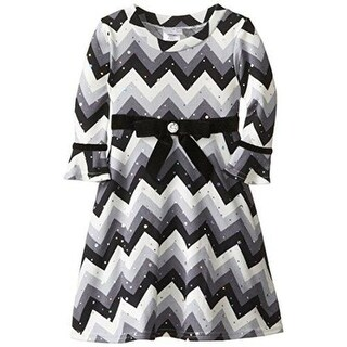 Youngland Girls Special Occasion Dress Chevron - 6x