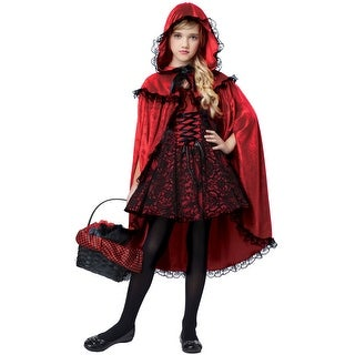 California Costumes Deluxe Red Riding Hood Child Costume
