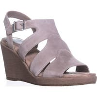 GB35 Wirla Wedge Gladiator Sandals, Mushroom - 11 us