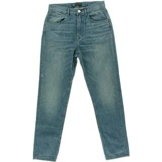 3x1 Womens Cotton High Waist Boyfriend Jeans