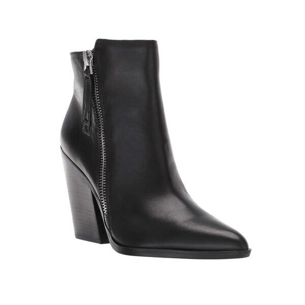 Naturalizer Women's Leather Rooney Zip Boot Black. Opens flyout.