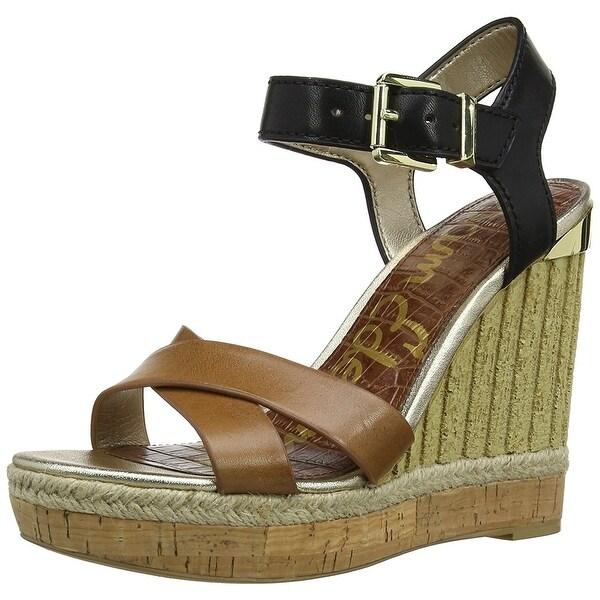 Sam Edelman Womens Clay Leather Open Toe Casual