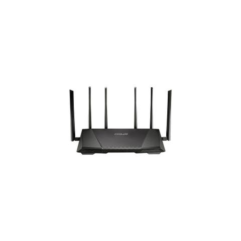 Asus Wireless Gigabit Router Asus RT-AC3200 IEEE 802.11ac Ethernet Wireless Router - 2.40 GHz ISM Band - 5 GHz UNII Band(6 x