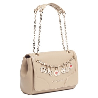 Moschino JC4069 0209 Taupe Shoulder Bag - 11.5-7.5-5.5