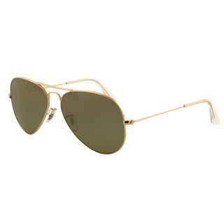 Ray-Ban RB3025 001/58 Aviator Sunglasses 55MM - Gold