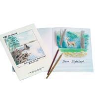 Sax Sulphite Art Journal, 50 lbs, 8-1/2 x 11 Inches, White