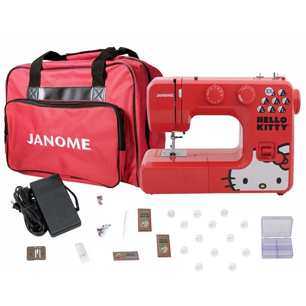 Shop Janome 40 Red Hello Kitty Sewing Machine W Bonuspack Free Unique Janome Hello Kitty Sewing Machine Instruction Manual