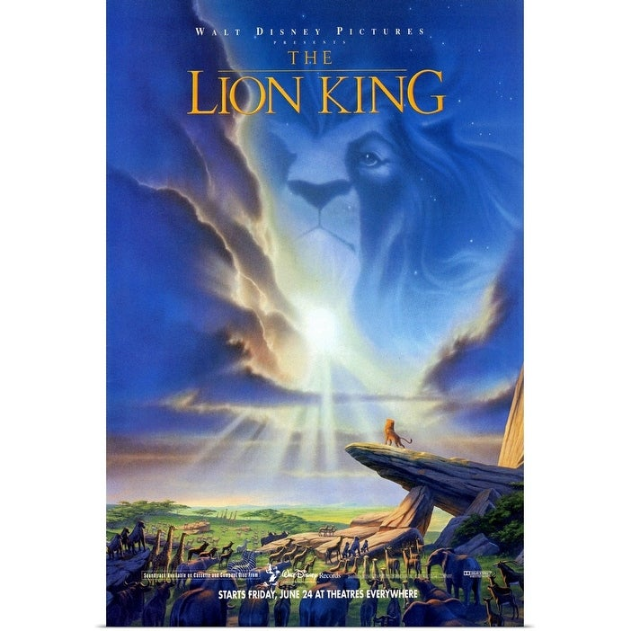 Shop The Lion King 1994 Poster Print Overstock 24133950