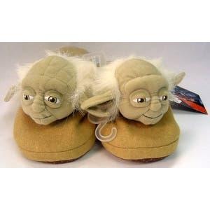 Star Wars Slippers Yoda Small