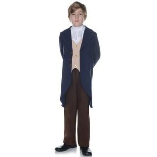 Underwraps Thomas Jefferson Historic Child Costume - Blue/Brown