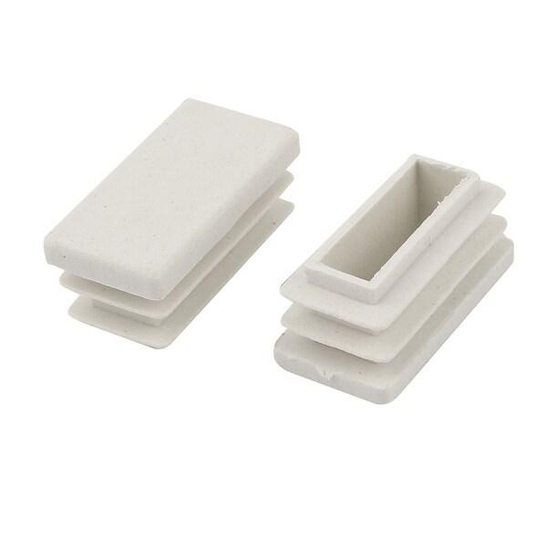 Shop Unique Bargains 15mm X 30mm Plastic Rectangle Caps