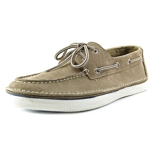 Sperry Top Sider Cruz 2-Eye Suede Men Moc Toe Suede Boat Shoe