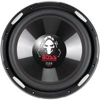 "BOSS AUDIO P156DVC Phantom Series Dual Voice-Coil Subwoofer (15"")"