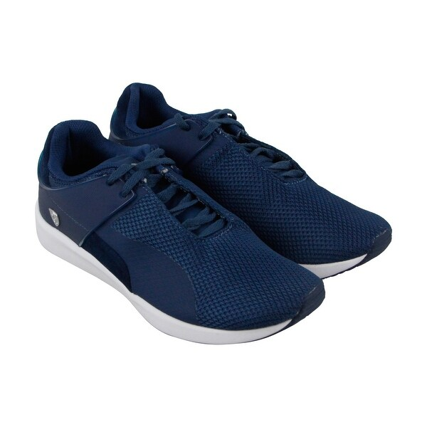 Puma F116 Sf Mens Blue Mesh Athletic Lace Up Running Shoes