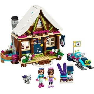 LEGO Friends Snow Resort Chalet 41323 Building Set - Multi