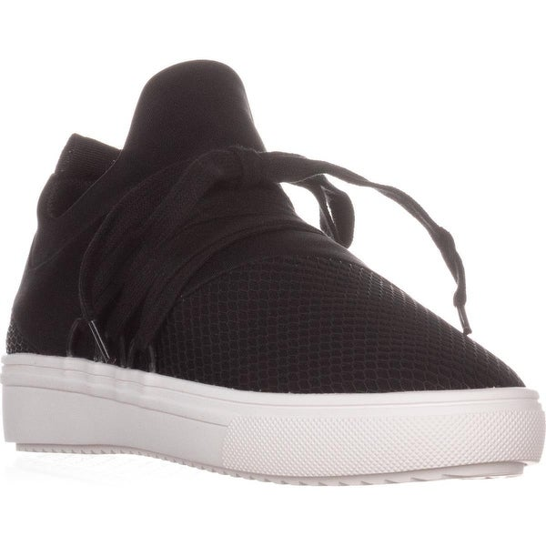 8f310ce37a0 Shop Steve Madden Lancer Fashion Sneakers, Black - Free Shipping On ...