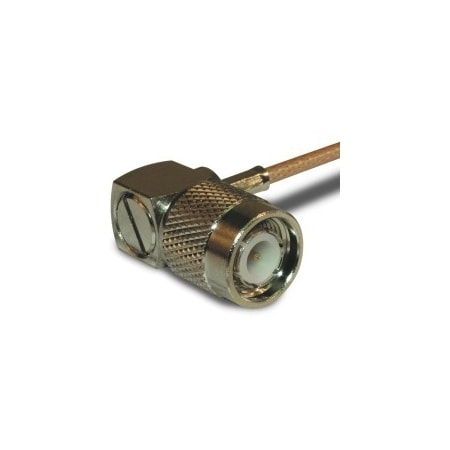 Amphenol RF RF Connector TNC Right Angle Crimp Plug