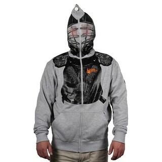 """Flow Society """"Flow Helmet"""" Face-Zip Lacrosse Hoodie"""