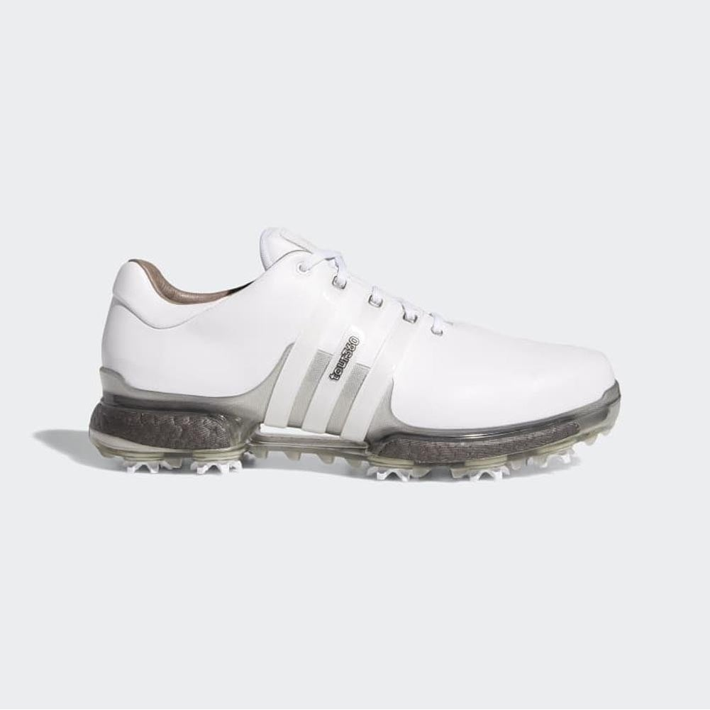 Shop New Men S Adidas Tour 360 Boost 2 0 Golf Shoes White Trace Grey F33729 F33795 Overstock 28389557 12m