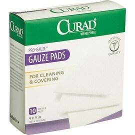 Curad 10Ct 4X4 Pro Gauze