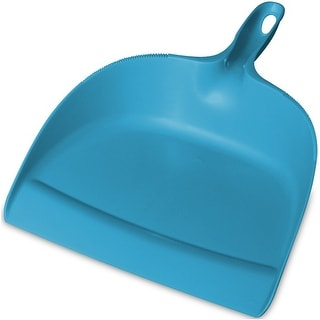 Sterilite 13654324 Plastic Dust Pan, Blue Aquarium