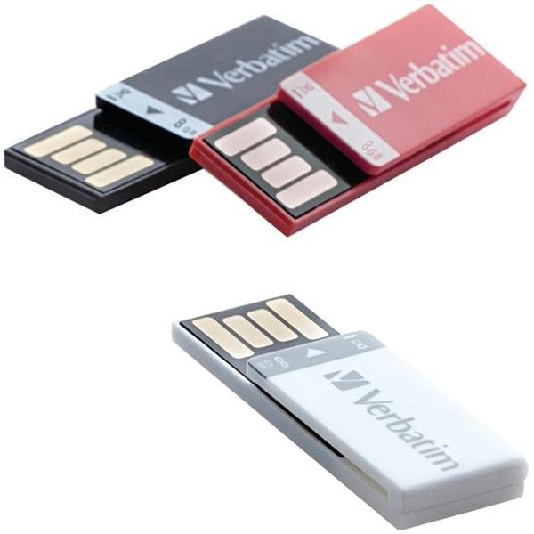 Verbatim 98674 8GB Clip-it USB Drive
