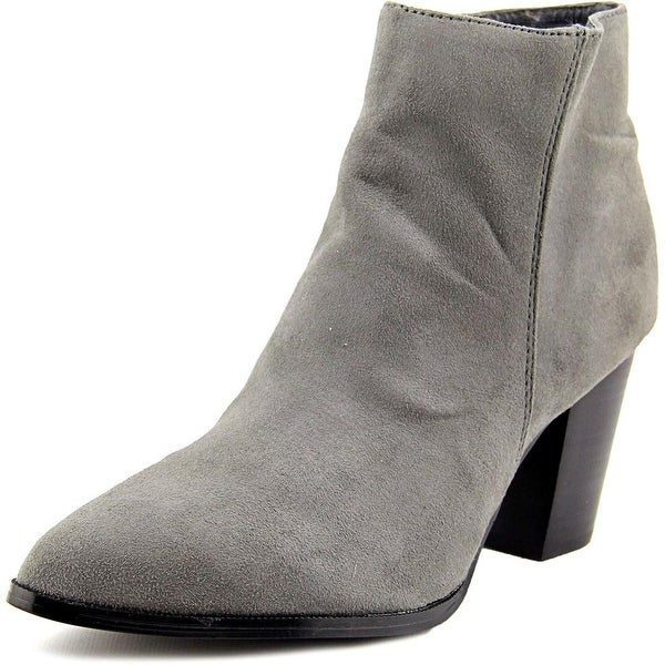 Diba Miller Women Pointed Toe Canvas Bootie