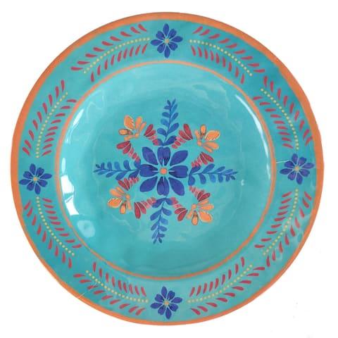 HiEnd Accents Bonita Melamine Collection Salad Plate, 4 PC