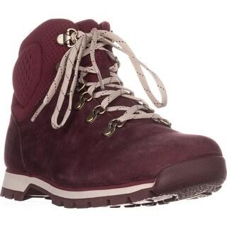 Timberland Alderwood Mid Hiking Boots, Dark Red - 10 us / 41.5 eu