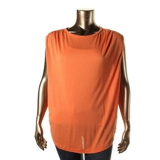 Polo Ralph Lauren Womens Knit Slub Casual Top
