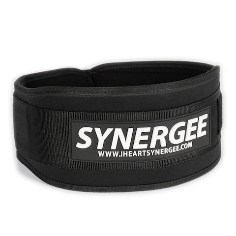 Synergee Weightlifting Belt, Olympic lifting, Dynamic workouts, Weight Belt for men and women, 5 inch