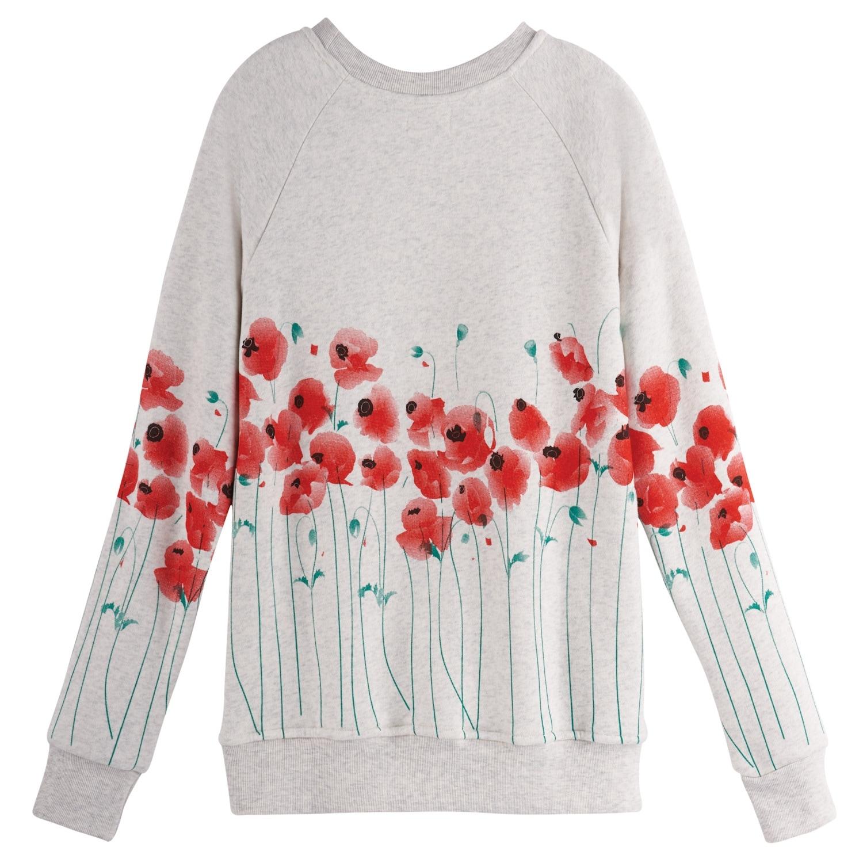 Womens Crewneck Sweatshirt LAN Womens Casual Long Sleeve Round Neck T Shirts Blouses Sweatshirts
