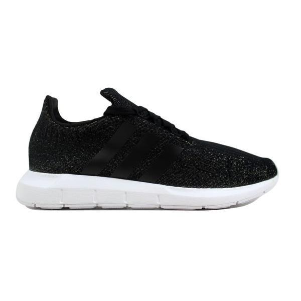 654fced22f32b Shop Adidas Women s Swift Run W Black Black-White CQ2018 - Free ...