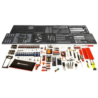 Powerbuilt 546 Piece Vo Tech Technician Mechanics Student Tool Set - 240114
