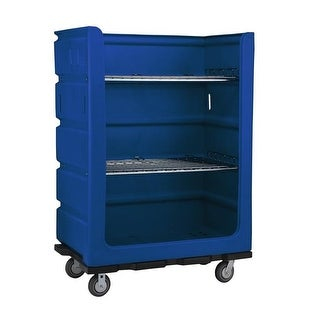 48 cu. ft. Turnabout Truck, Blue - 48 x 29 x 68 in.