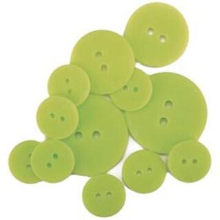 Limeade - Favorite Findings Matte Buttons 11/Pkg