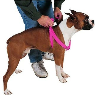 Guardian Gear Two-Step Dog Harness - Electric Lime (Flamingo Pink - 25-40)