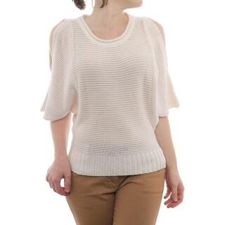 Cullen Dolman Crew Neck Sweater Women Regular Sweater