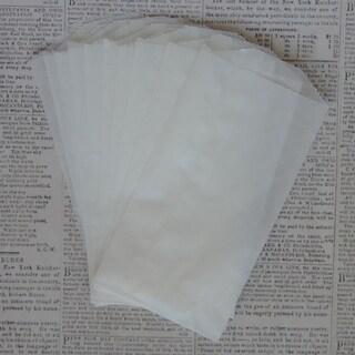 "Glassine Bags 3""X5.5"" 10/Pkg-"