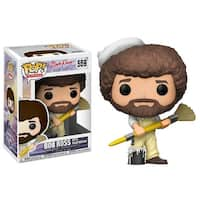 Bob Ross Funko POP Vinyl Figure: Bob Ross In Overalls - multi