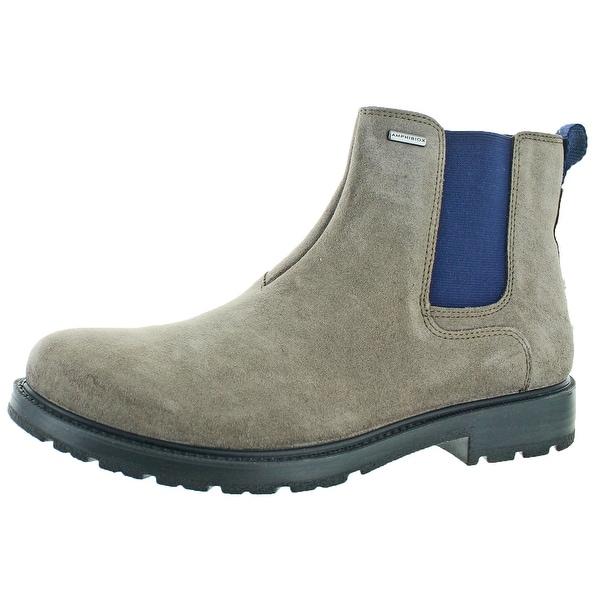 Geox U Fiesole Men's Waterproof Suede Boots